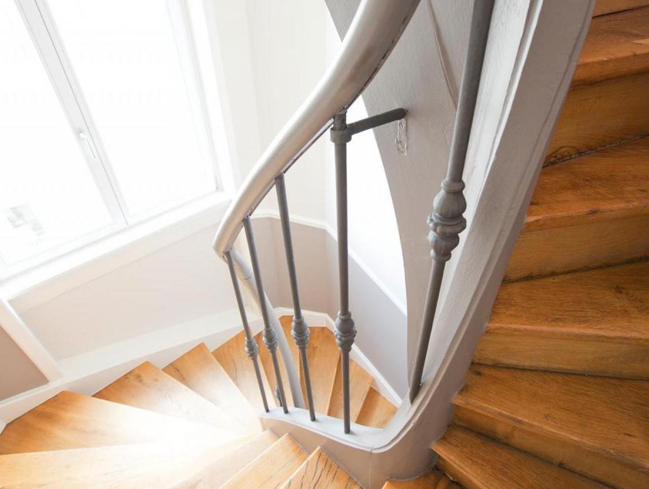 Treppenhaussanierung in Mehrfamilienhaus
