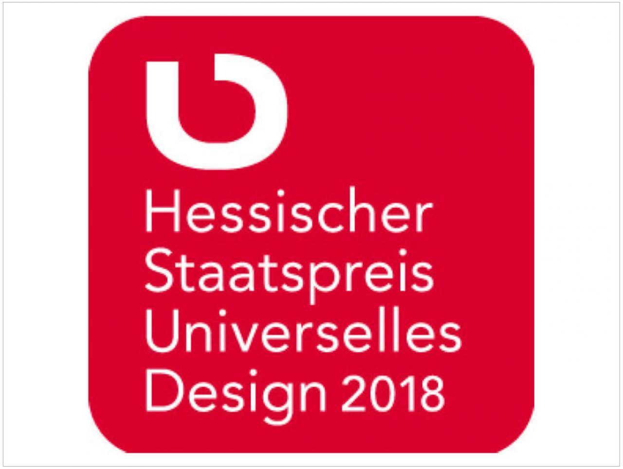 Hessischer Staatspreis Universelles Design 2018
