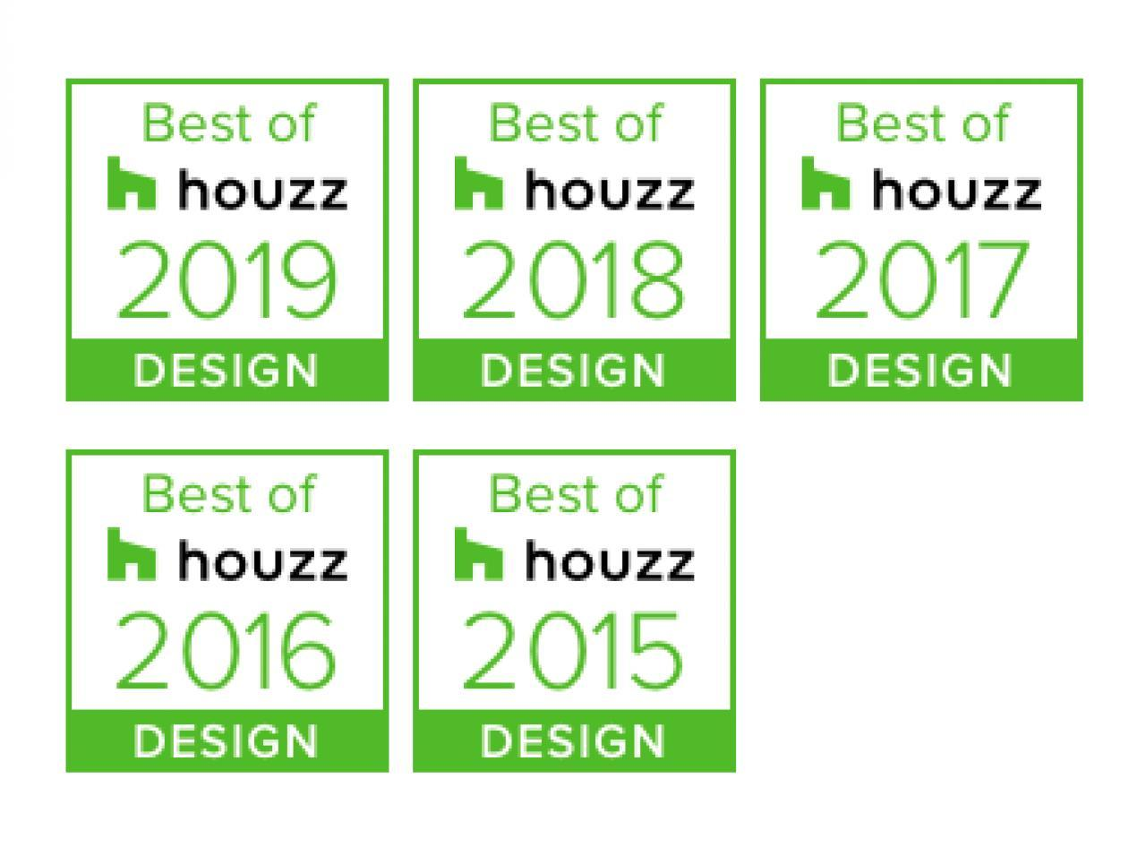 5 Houzz-Awards